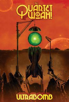 The Quartet of Woah! album poster artwork by Pedro Semeano    https://www.facebook.com/graphicallegiance