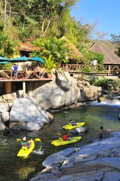 Ready for some family fun in Puerto Vallarta? Yes!  Take your kayaks and have a great time!