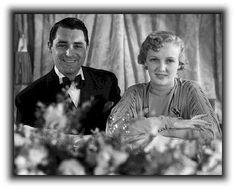 Virginia Cherrill and Cary Grant