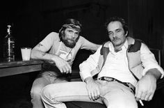 Johnny Paycheck and Merle Haggard