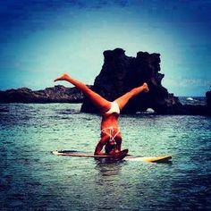 Amazing water pose