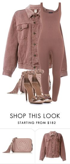 """Untitled #3516"" by xirix ❤ liked on Polyvore featuring Gucci, Moschino and Tom Ford"