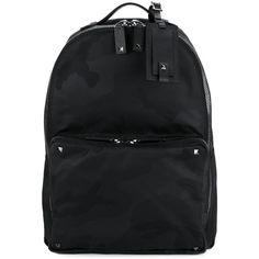 Valentino Valentino Valentino Garavani Camouflage Backpack (56 075 UAH) ❤ liked on Polyvore featuring men's fashion, men's bags, men's backpacks, daypack bag, camo rucksack, day pack backpack, knapsack bag and valentino bag