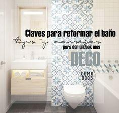 Reformar el baño. Ideas para el antes y despues - Blog decoración y Proyectos Decoración Online