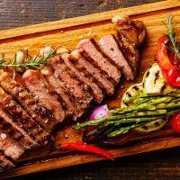 Oriental grilled flank steak