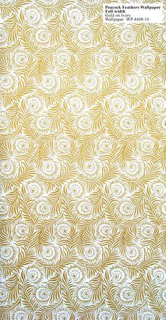 Textiles/wallpaper - 1880 - 1900 (peacock)