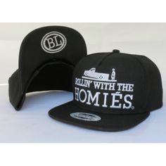 Chill out and meet your friends with Brian Lichtenberg Rollin With Homies Snapback Hat #BrianLichtenberg #snapback #streetwear #streetfashion #urbanwear