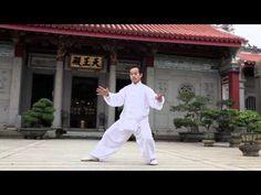Simplified Tai Chi 24 form (YMAA Taijiquan) Yang style by Liang, Shou-Yu - YouTube