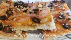 RETETE: Pizza de post Ketchup, French Toast, Pizza, Breakfast, Food, Morning Coffee, Essen, Meals, Yemek