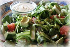 Spring Asparagus Ribbons Salad