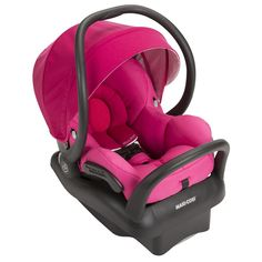[+] Maxi-Cosi - Mico Max 30 Infant Car Seat w Baby on Board Sign - Pink Berry by Maxi-Cosi Baby Doll Car Seat, Baby Car Seats, Thing 1, Baby List, Reborn Babies, Baby Accessories, Baby Gear, Future Baby, Baby Dolls