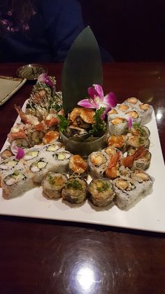 Girlfriend broke up with me rather than delete every picture we ever took I thought you all might enjoy our year of sushi together #sushi #food #foodporn #japanese #Japan #dinner #sashimi #yummy #foodie #lunch #yum