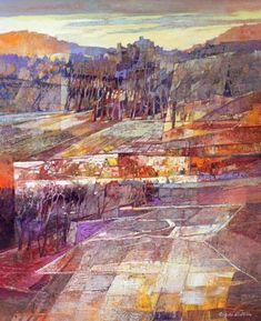 Angelo Bellini 1938 | Italian Landscape painter