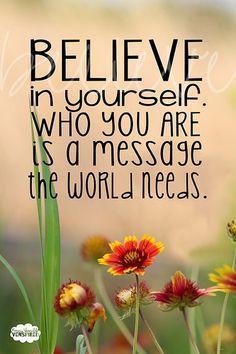 Believe In You by venspired, via Flickr