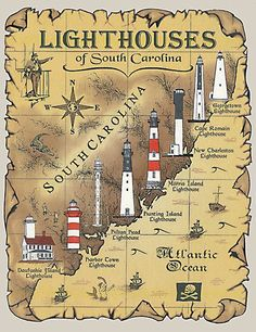 lighthouses in south carolina // yeahTHATgreenville