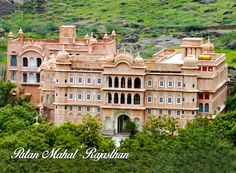 Patan Mahal is a premium heritage getaway and a getaway with offbeat / experiential character at 118 kms from Jaipur and 200 kms from Delhi. India Architecture, Classical Architecture, Top Hotels, Hotels And Resorts, India Travel, India Trip, Heritage Hotel, Experiential, Agra