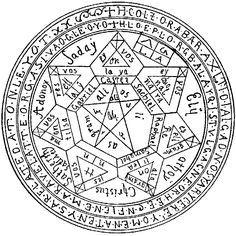 More Kabbalah symbols.