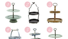 Things I Love - Tiered Tray Roundup