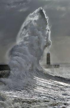 Wave | Porthcawl, Wales, UK | by wentloog~~