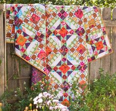 Affordable Lovely Lattice Quilt Kit Patterns and Fabrics