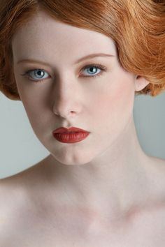 Rousse? Red or ginger hair! -- Argel R. Landeros via Theresa Burgess onto Redheads