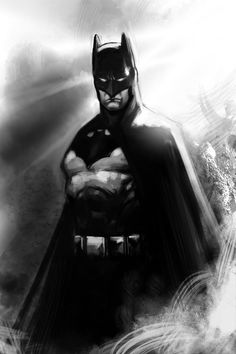 Batman Digi-sketch by *stokesbook on deviantART