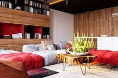 Rote Wand - 50 Ideen mit Wandfarbe Rot ! - Archzine.net   Roten ...