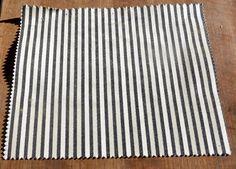 "Polo Ralph Lauren 100% Cotton Sample Fabric Remnant 12"" x 9.5"" 'Dobbin Stripe' #PoloRalphLauren"