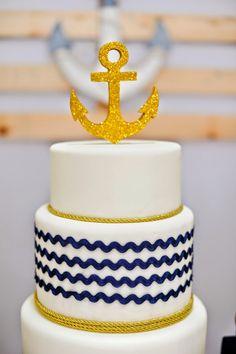 Encontrando Ideias: Festa Navy!!