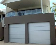 Architectural Series - Aluminium composite with 1 insert Sectional Garage Doors, Architecture, Outdoor Decor, Modern, Design, Home Decor, Arquitetura, Trendy Tree, Decoration Home