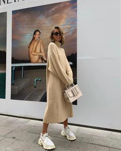 Street Style Outfits, Winter Outfits, Fashion Outfits, Womens Fashion, Textiles Y Moda, Estilo Street, Pull Long, Outfit Essentials, Winter Stil
