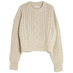 Isabel Marant Étoile Newlyn Pullover ($360) ❤ liked on Polyvore featuring tops, sweaters, shirts, long sleeve tops, nude, pullover tops, pullover shirt, pink top, sweater pullover and shirts & tops