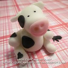 fondant farm animals - Google Search