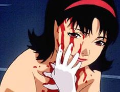 Satoshi Kon's Perfect Blue > Don't make the mistake of thinking anime is just about giant robots and squid monsters. Echoing Vertigo and prefiguring the psychological identity games of Black… Manga Anime, Fanarts Anime, Manga Art, Anime Art, Blue Anime, Dark Anime, Aesthetic Art, Aesthetic Anime, Anime Negra