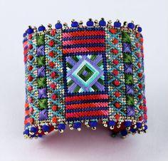 Needlepoint Cuff Bracelet Kit