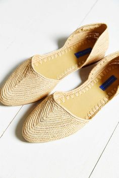 Proud Mary Woven D'Orsay Flat - Urban Outfitters