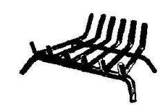 Lynx Fireplace Grate 14  W X 10  D Painted Black *** Check out the image by visiting the link.