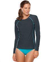 Women's Water-Sport Swimwear, Hydro Shirt Cover-Up