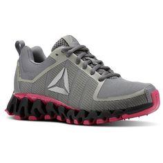 0c712b93ffff20 Reebok Shoes Women s ZigWild TR 5.0 in Shark Coal Twisted Pink Size 5.5 -  Running Shoes