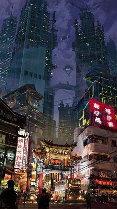 Busy Hongkong