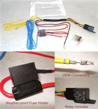 ford f 150 fog light wiring harness 1999 2009 pinterest ford fog lamp wiring harness wiring kit, fog light harness for mk4 cars
