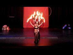 Fire Belly Dance Fans