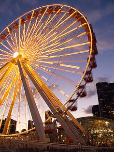 10 Things to Do with Kids In Chicago, Illinois: 4. Ride on a Ferris Wheel (via Parents.com)