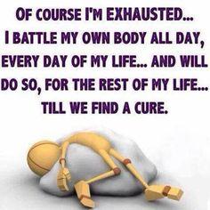 Lupus everyday battle of oneself it's the truth. Chronic Kidney Disease, Autoimmune Disease, Chronic Illness, Chronic Pain, Dercums Disease, Migraine Pain, Migraine Relief, Rare Disease, Thyroid Disease