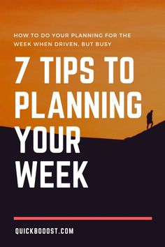 When you're busy, productivity is paramount. Learn how to do your planning for the week and work on what matters most. Productive Things To Do, Things To Do At Home, Things To Do When Bored, Productive Day, Getting Things Done, Time Management Activities, Time Management Printable, Time Management Quotes, Time Management Skills