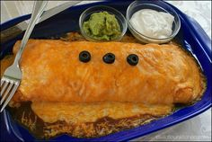 """In NW Indiana, there is a small restaurant chain called, """"Hacienda"""". Here ia a copycat recipe of their smothered burrito.  ..."""