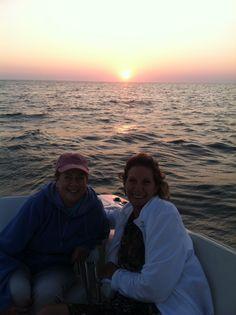 Me and Paula. On Cape Cod Bay