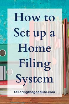 Is it time to declutter your paperwork? Let's talk about a home filing system for your paper organization. I give you tips and ideas to get started plus storage solutions. #paper #declutter #homefilingsystem #paperorganization