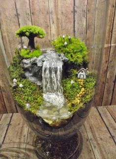 add a little water feature for my next bonsai perhaps? Great idea!