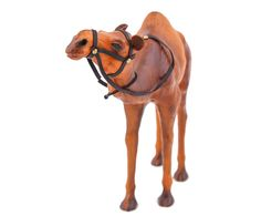 "Статуэтка ""Верблюд"" - натуральная кожа - Д30хВ30   Westwing Интерьер & Дизайн Horses, Animals, Animales, Animaux, Animal, Animais, Horse"